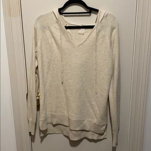Cream light weight sweater!